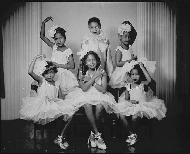 Little Ballerinas by Black History Album, via Flickr