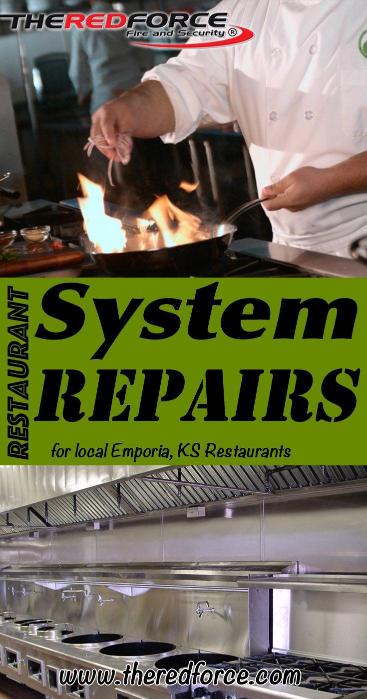 Restaurant System Repairs Emporia, KS (816) 8338822 Check