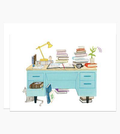 Desk illustrations, catch em all!