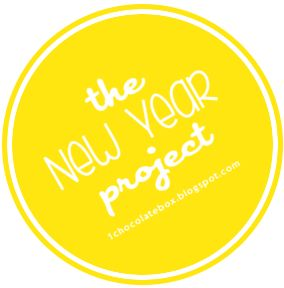 The New Year Project at 1chocolatebox.blogspot.com