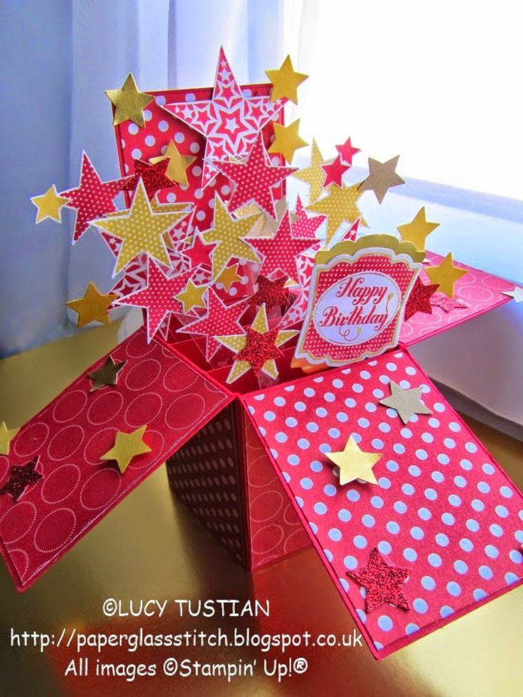 LUCY+TUSTIAN+Kitty's+Star+Burst+Card+in+a+box+birthday+card+1.jpg 810×1,080 pixels