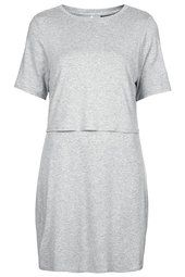 Sporty Overlay T-shirt Dress