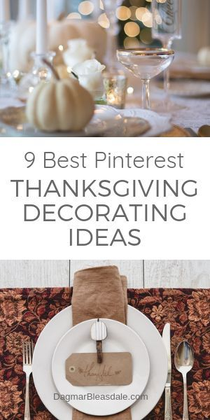 9 Stunning Diy Thanksgiving Decorating Ideas From Pinterest Fall