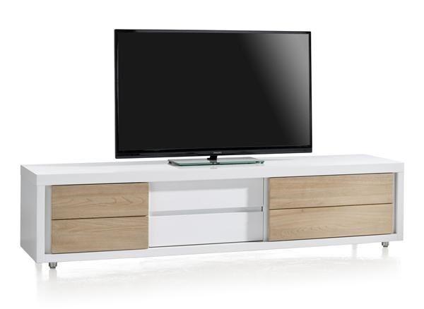 Byron Bay, tv-dressoir 2-schuifdeuren + 1-lade - 190 cm