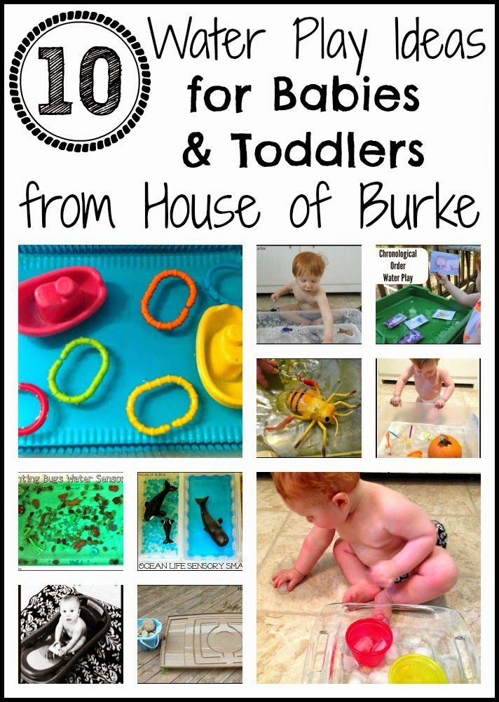 10 Water Play Ideas for Babies and Toddlers - House of Burke
