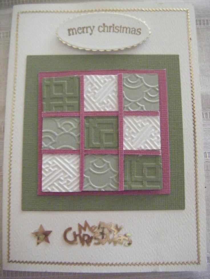 Card Making Ideas Using Cuttlebug Part - 47: Card Made With Cuttlebug