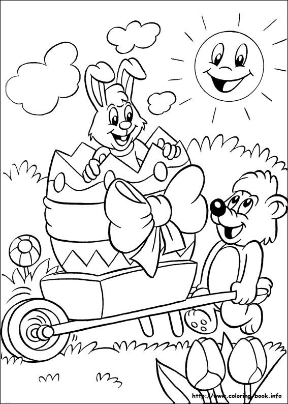 easter theme coloring pages - photo#14