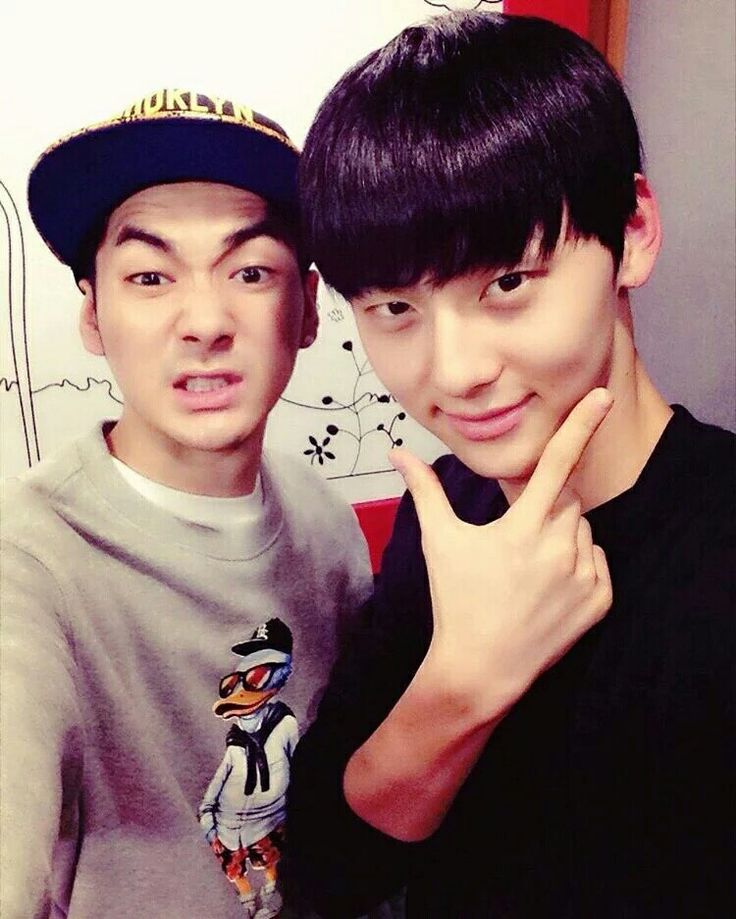 Aron and MinHyun!