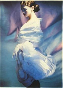 1988 - John Galliano dress by Javier Vallhonrat