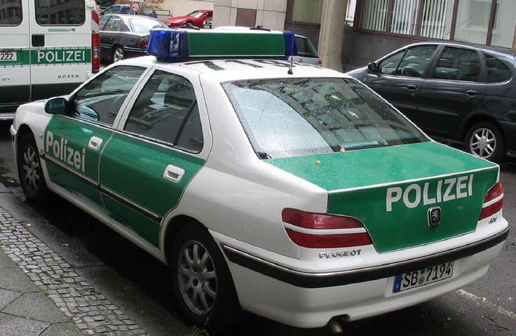 1996 Peugeot 406 I - Streifenwagen der Bundespolizei Deutschland  - République fédérale d'Allemagne