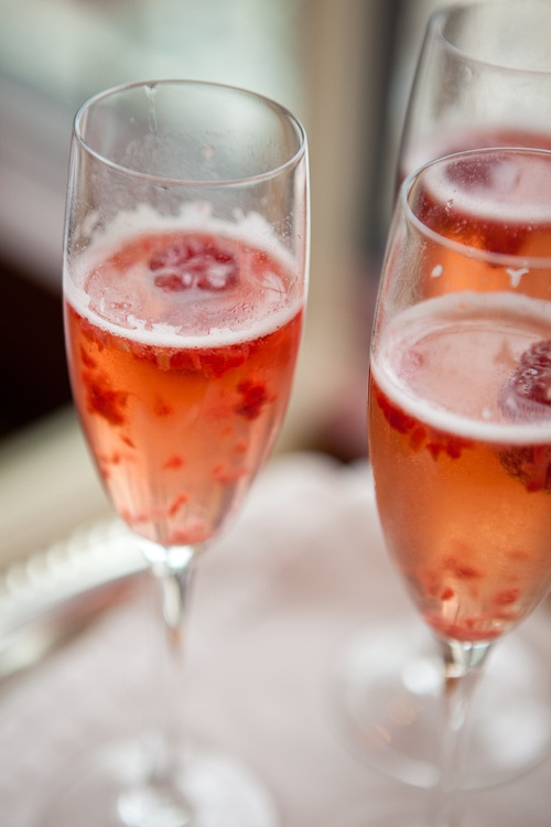 Raspberry Champagne Cocktail Recipes — Dishmaps