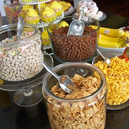 Cereal Buffet Breakfast Cool Buffet Ideas For Home Have Each Kid Bring Their Favorite