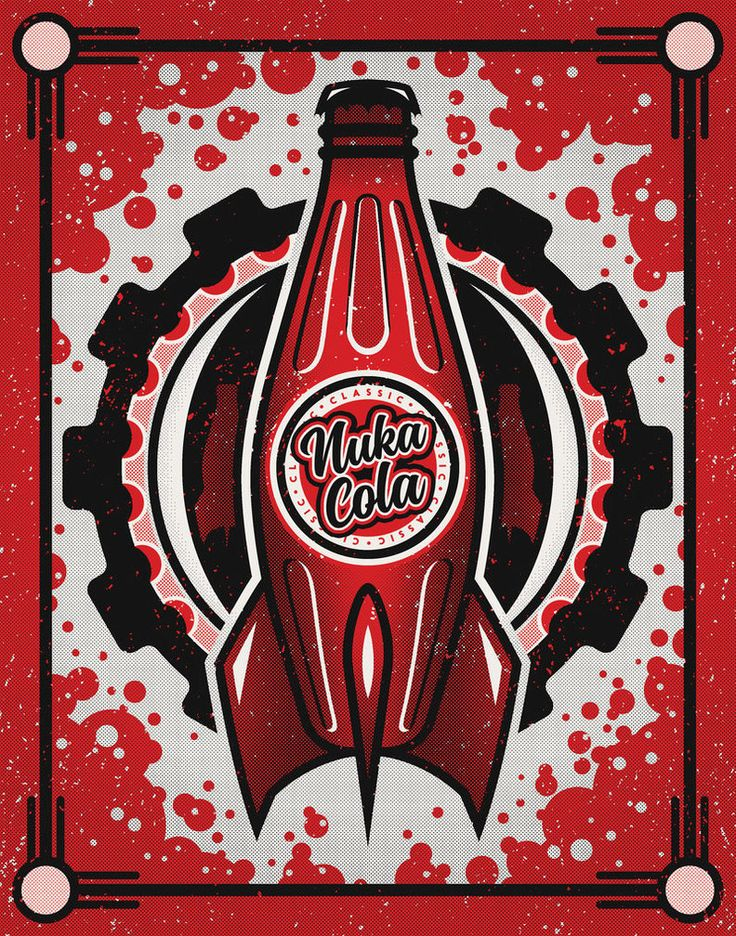 Nuka Cola Posters - Created by Fabled CreativePrints available for sale at the Artist's Shop.