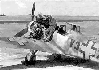 Me-109 Serviced in Hungary