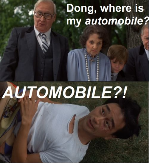 !!!!!!! NO one ever gets this when I reference automobile! This way... Ugh smh. Lol