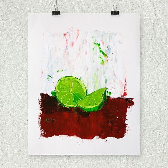 Title zesting a lime image size 8 5 x 10 5 inches paper for 11x14 paper size