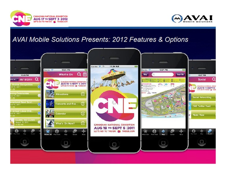 We finalized plans for the 2012 edition of the Official CNE App with our developer this week. Along with general tweaks and improvements to the iOS and BlackBerry apps, we're adding an Android version this year and a bunch of cool new features. We'll keep everyone posted!