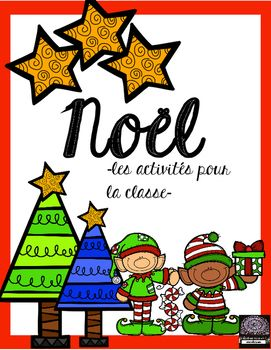 Add a little extra to your lessons for Christmas with these 2 activities. Included is a fun decoding activity for your students to do and also a French sentence completion activity.  Answer keys are included for both.  A special thanks to Julie Faulkner and Krista Wallden of Creative Clips of TpT for providing the clip art for this product.