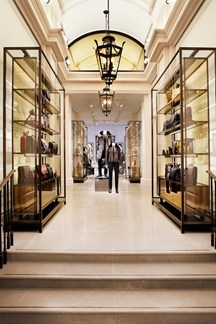 Inside Burberry's first menswear store