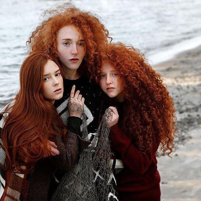 Beautiful Redhead Portraits By Vitaliy Zubchevskiy – Design You Trust
