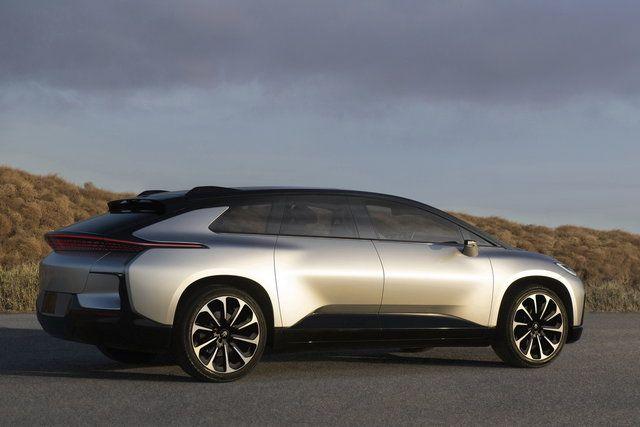 FF 91, la prima auto firmata Faraday Future