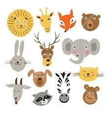 Google Image Result for http://cdn.vectorstock.com/i/composite/46,61/animal-faces-vector-1614661.jpg