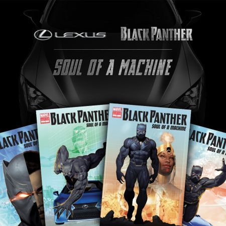 Black Panther: Soul of A Machine (Lexus Crossover Web Comic)