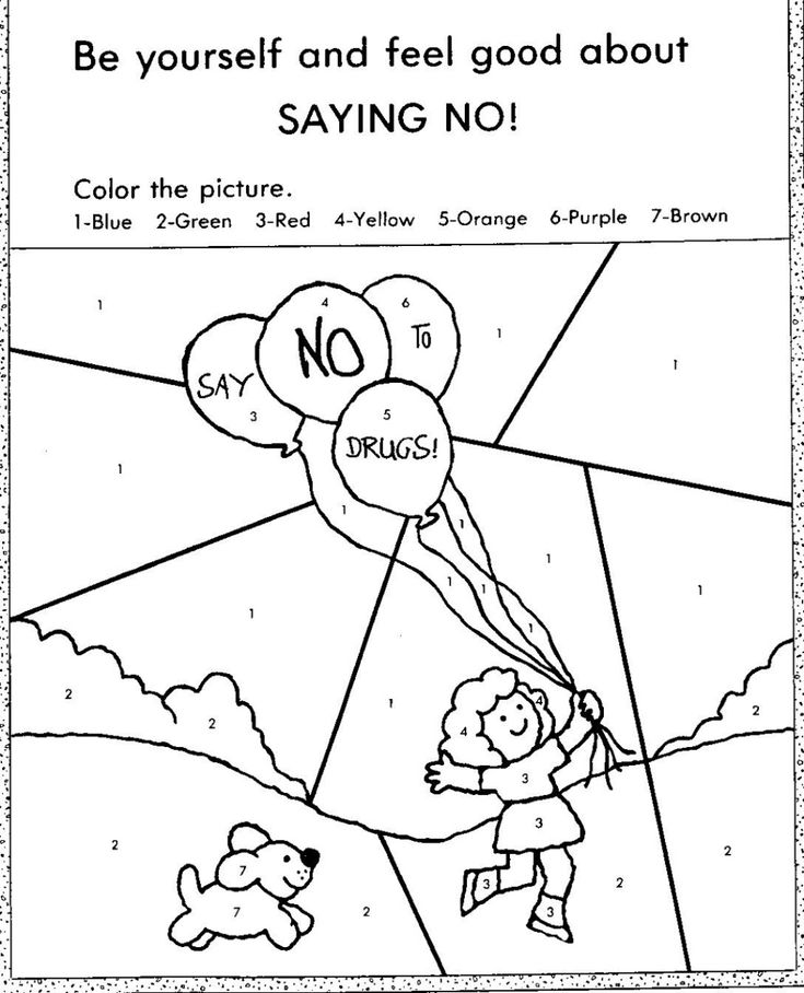 Red Ribbon Week Coloring Pages | Printable Shelter | Red ...