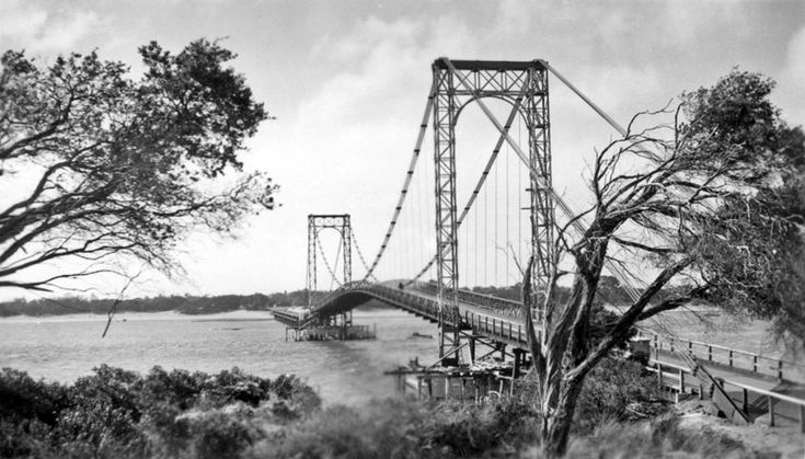 The Old Phillip Island Cable Bridge