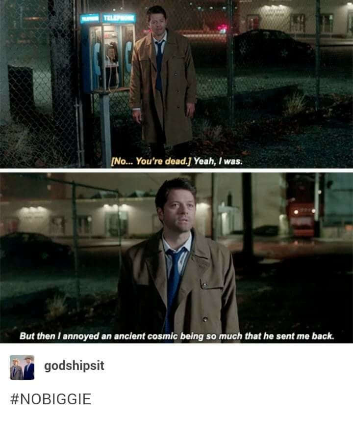 Maybe Castiel IS god. And maybe Chuck has just been covering for him because Cas erased his own memory.