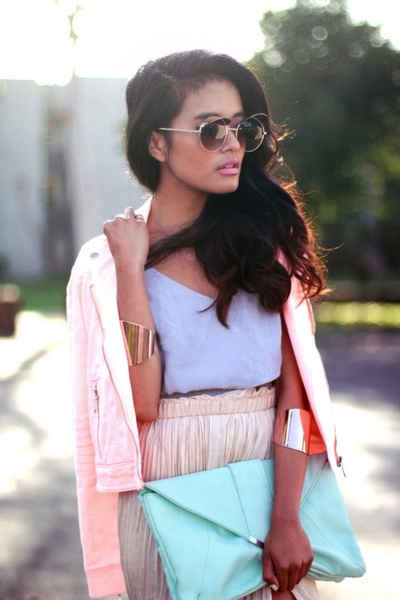 Sunday Afternoon: Shades, Summer Looks, Henry Holland, Pastel Cerveza Tennis, Skirts, Summer Style, Outfit, Pastel Colors, Pink Lipsticks