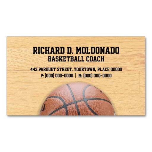 299 Best Sports Coach Business Cards Images On Pinterest