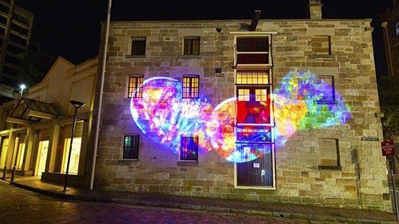 Vivid Sydney features Lightning Ridge opal installation.