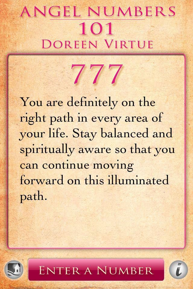 the meaning of 777