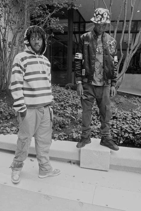 Capital STEEZ and Joey Bada$$
