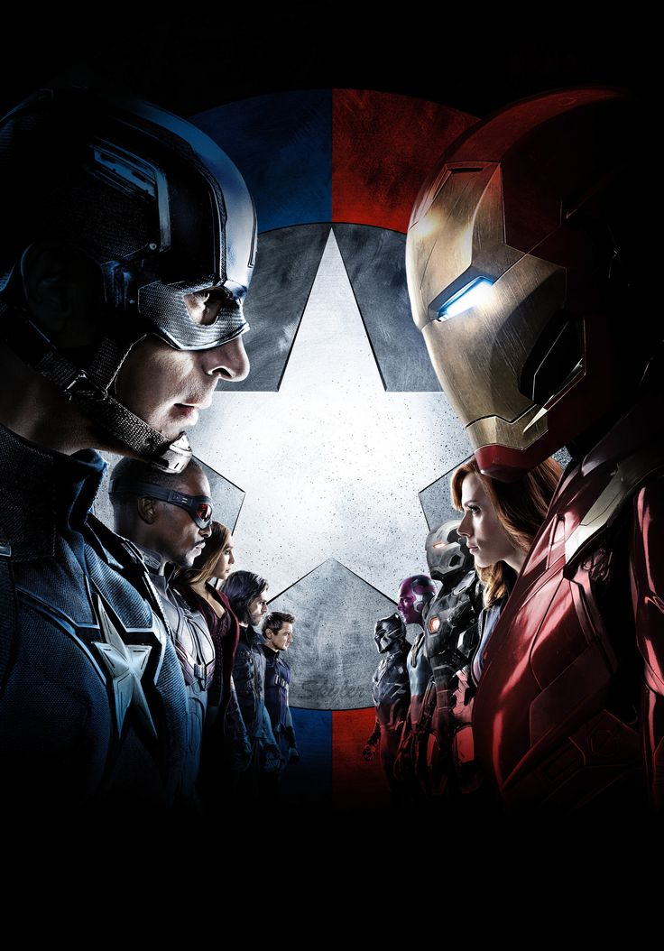 #CivilWar pretty sure it was the best Marvel movie I've ever seen