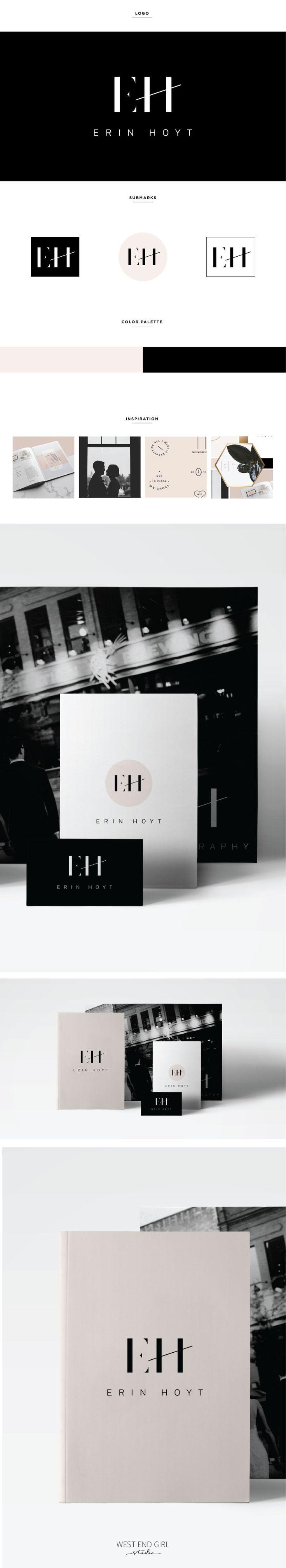 clean, modern, minimal, logo, photography branding, black and white logo