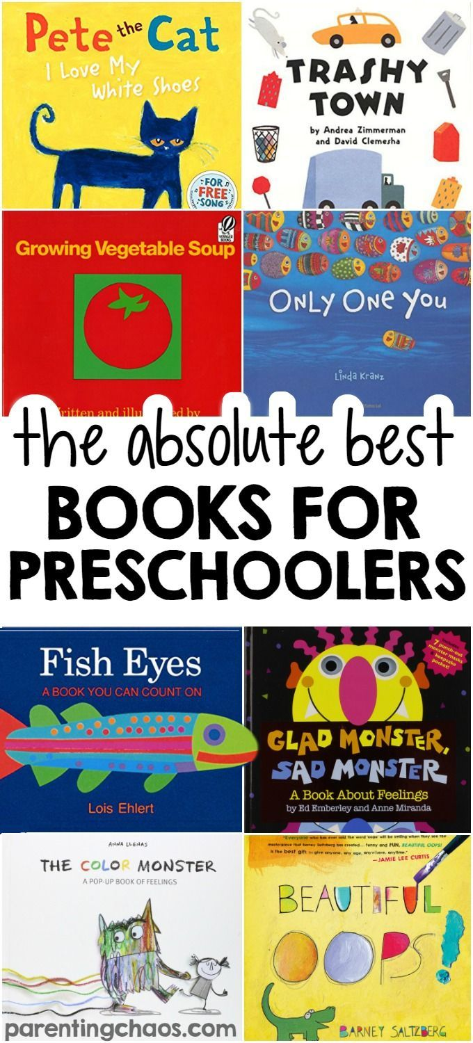100 of the best books for preschoolers - Free Toddler Books