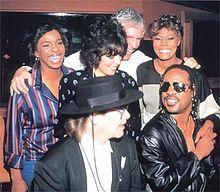 Dionne Warwick, Burt Bacharach, Gladys Knight, Stevie Wonder, Carole Bayer-Sager, Elton John - Wikipedia, the free encyclopedia