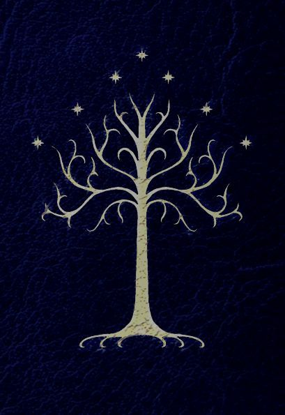 """I was on Pinterest looking at lotr pins and there was this pin and mom said """"how about painting that in your bedroom?"""" And i was like """"YESSS PLEASE!!!""""  And i started fangirling so much. Im having the tree of Gondor painted in the wall beside my bed!!!"""