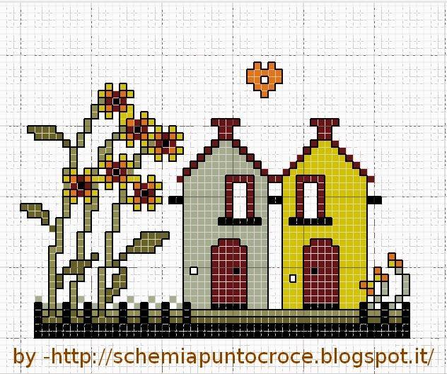 28 best images about punto croce on pinterest christmas for Arredamenti per case piccole