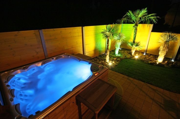 Interesting installation of our spa