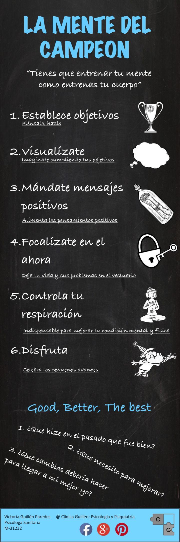 #psicologia #deporte #infografia #mentedelcampeon #psicologiadeportiva