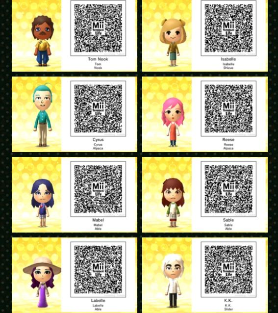 Anime Mii Characters 3ds : Best images about animal crossing new leaf on