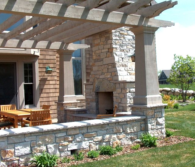 Outside Patio Stone: 78+ Images About Covered Patios On Pinterest