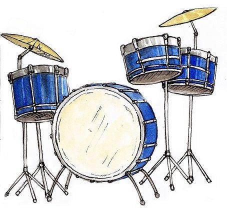 Drums Illustration.