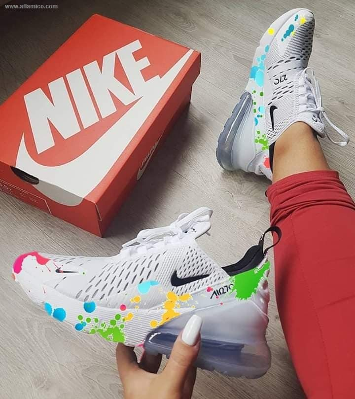 Nike Air Max 270 Floral Aflamico in 2019 | Workout shoes