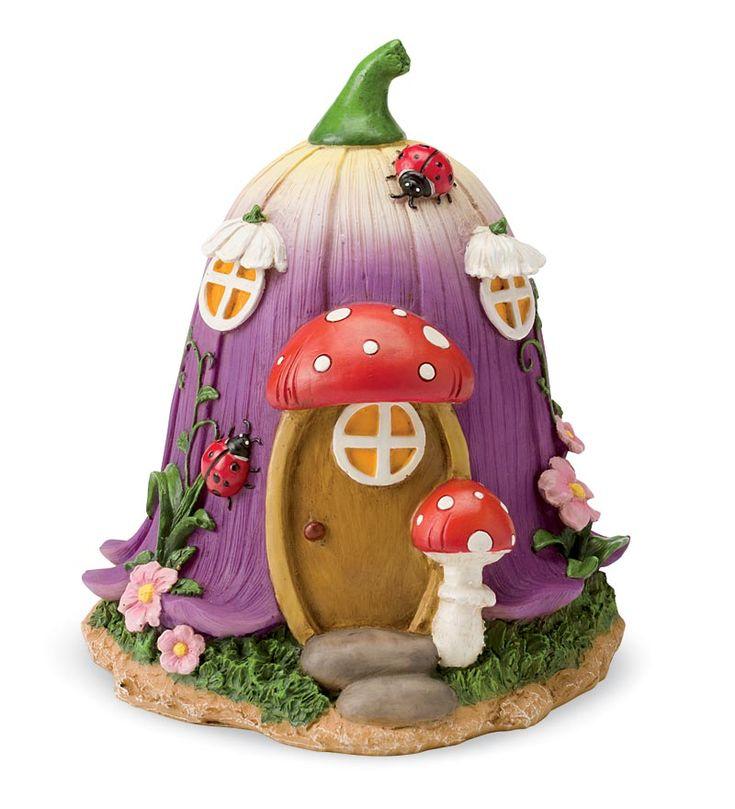Fairy Village Houses, Set of 5 Fairy Dolls - HearthSong
