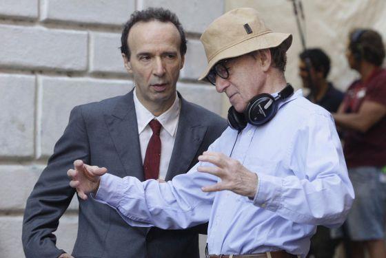 Roberto Benigni y Woody Allen