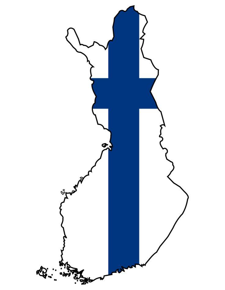 Finland  http://4.bp.blogspot.com/-Ht8aPe5AgQg/TgBTaA18NrI/AAAAAAAAM-g/kmepkSWukeI/s1600/finland+flag+map.png